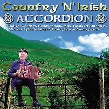 Country N Irish Accordion - CD - BRAND NEW SEALED
