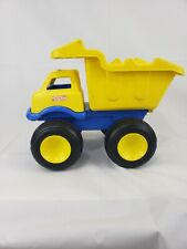Tonka Large Blue And Yellow Plastic Dump Truck without handles