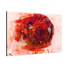 Canvas Picture Paul Sinus Enigma Series 120x80cm Timeless Red Pink Black