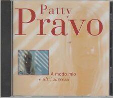 PATTY PRAVO A MODO MIO  CD F.C. COME NUOVO!!!