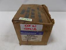Westinghouse 3 Pole 15Amp Ab De-Ion Circuit Breaker Hfb3015 Nib