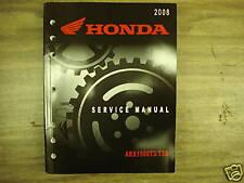 Honda 08 ARX1500 T3/T3D Factory Service Manual Used