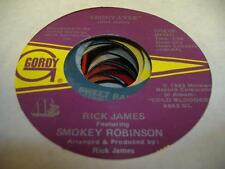 Soul 45 RICK JAMES FEAT. SMOKEY ROBINSON Ebony Eyes / 1, 2, 3 (You Her and Me)