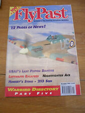FLYPAST AVIATION MAG NOV '95 USAF PISTON BOMBER LUFTWAFFE ESCAPEES NIGHTFIGHTER