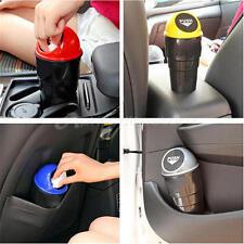 Portable Mini Auto Car Vehicle Trash Garbage Dust Rubbish Can Box Bin Holder