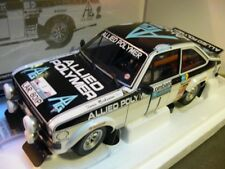 1/18 Minichamps ford escort II rs1800 Winners RAC Rally 1975 Allied polímero