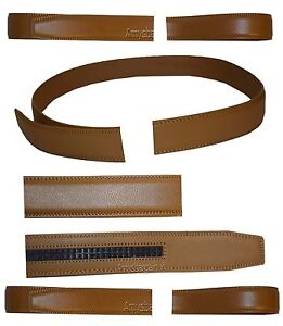 """Women's Leather belt. Strap Automatic sliding buckle Auto-lock 1.25"""" Strap only."""