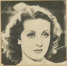 Danielle Darrieux, actrice française Vintage silver printDanielle Darrieux, de