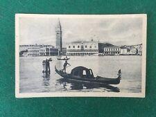 VENETO VENEZIA - PANORAMA ISOLA S.GIORGIO Cartolina vg 1932