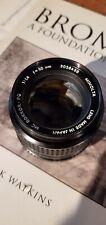 Minolta MC 50mm f1.4 Rokkor-PF Lens 58/1.4