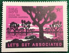 #164 Joshua Tree - Southern California, Let's Get Associated, Flying A Gas & Oil
