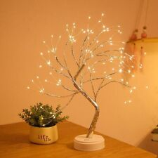 Fairy Light Spirit Sparkly Tree Copper Wire Garland Lamp LED Tree Light Holiday