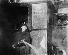 Classique Fdny New York Ville Pompier 8x10 Argent Halide Affiche
