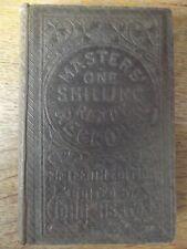 MASTERS ONE SHILLING READY RECKONER EDITED BY JOHN HEATON 1869 HARDBACK BOOK