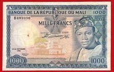 MALI,  1000 Francs,  1960