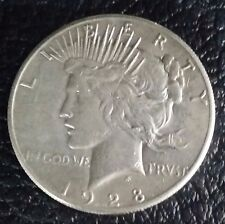 US  Peace Silver Dollar 1928 P ( 1921-1935)