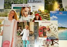 Lot 10 Catalogs 2009-2015 Vera Neiman Sundance Bean Talbots Vineyard ++ Reseller