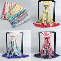 New Fashion Women Long Soft Wrap scarf Ladies Shawl Chiffon Beach Travel Scarves