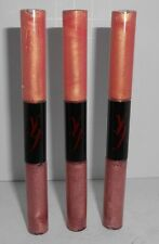 3 x YBF YOUR BEST FRIEND Lip gloss duo CAPTIVATING CORAL & POWERFUL PINK 1 FREE