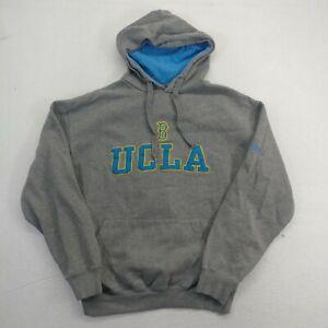 Old Varsity Brand Mens Small Sweatshirt Gray UCLA Bruins Pullover Hoodie