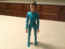 Vintage Louis Marx Janice West Action Figure Blue Missing Fingers