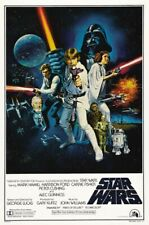 Star Wars Episode IV A New Hope Movie Poster 8x10 11x17 16x20 22x28 24x36 27x40