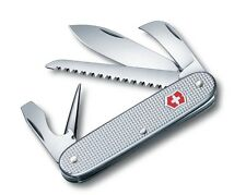 New Victorinox Swiss Army 93mm Knife  PIONEER HARVESTER  Silver Alox  0.8150.26