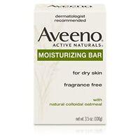 Aveeno Moisturizing Bar Soap, 3.5 oz