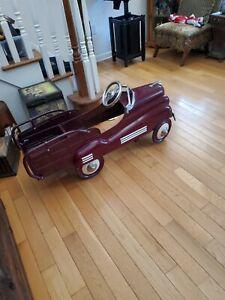 1941 Pontiac Vintage Estate Steelcraft Pedal Car Restored Rare