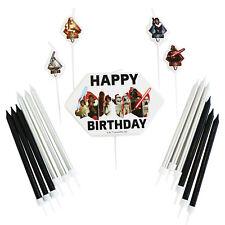 Amscan International 9903084 Star Wars Selección de velas - Party Cumpleaños