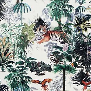 Arthouse Sumatra Multi Tropical Jungle Parrot Tiger Palm Tree Wallpaper
