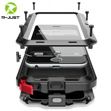 Heavy Duty Protection Armor Metal Aluminum phone Case for iPhone 11 12 mini Pro