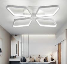 Flush Mount LED Ceiling Light Modern Simple Acrylic 4 Diamonds Ceiling Light Ene