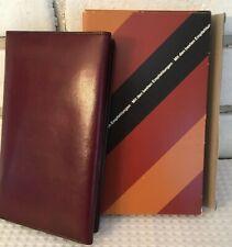 Germany Trifold Credit Card Holder Notes Appt Book Calendar New 1983-4 KRONES