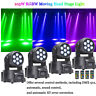 4pcs 105W 7 LED RGBW Beam DJ DMX512 Disco Party Moving Head Light Stage Lighting