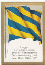 N°170 FLAG DRAPEAU Rhin Rheinbund NAPOLEON 1805-1806 FRANCE GERMANY CHROMO 30s