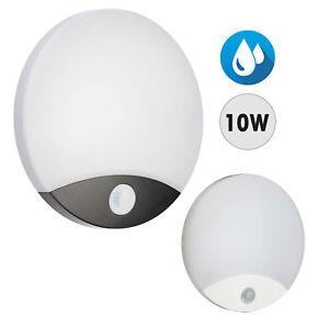 Plafoniera LED 10W lampada parete soffitto sensore movimento PIR luce giardino