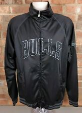 Majestic Chicago Bulls Track Jacket Full Zip Mens Medium Tall NBA Basketball