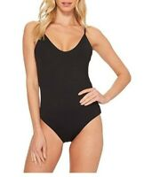Becca by Rebecca Virtue 145849 Womens One Piece Swimsuit Black Size Medium