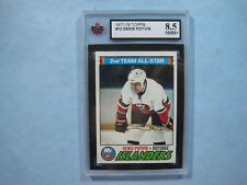 1977/78 TOPPS NHL HOCKEY CARD #10 DENIS POTVIN KSA 8.5 NM/MT+ SHARP+ 77/78 TOPPS