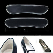 2 Pair Silicon Gel Heel Cushion Stickers Invisible Heel Protector Feet Care Pads