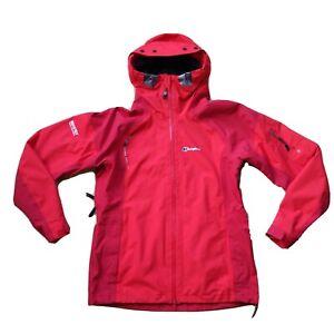 Ladies BERGHAUS GORE-TEX Performance Shell Jacket UK14 waterproof Mera Peak