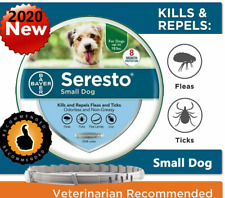 Bayer Seresto Flea and Tick Collar Tick prevention for small dog under 18 lbs
