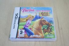 RARE Barbie Horse Adventure Riding Camp Nintendo 3DS  DS 2DS  New Factory Sealed