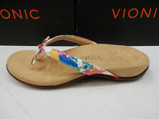 Vionic Womens Sandals Bella II White Floral Size 7