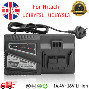 Fast Battery Charger For Hitachi UC18YFSL UC18YSL3 UC18YKSL UC18YRL 14.4-20V Max