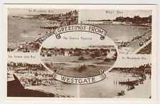 Kent postcard - Greetings from Westgate (Multiview showing 5 scenes)
