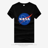 New NASA Logo Space Astronaut T-Shirt Men Women Tee Unisex Short Sleeve T-Shirts