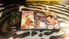 VHS Tapes Classic Videos Red Dwarf Ninja Turtles Flintstones Pee Wee Playhouse