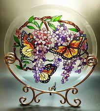 Butterfly Nature Stain Glass Suncatcher
